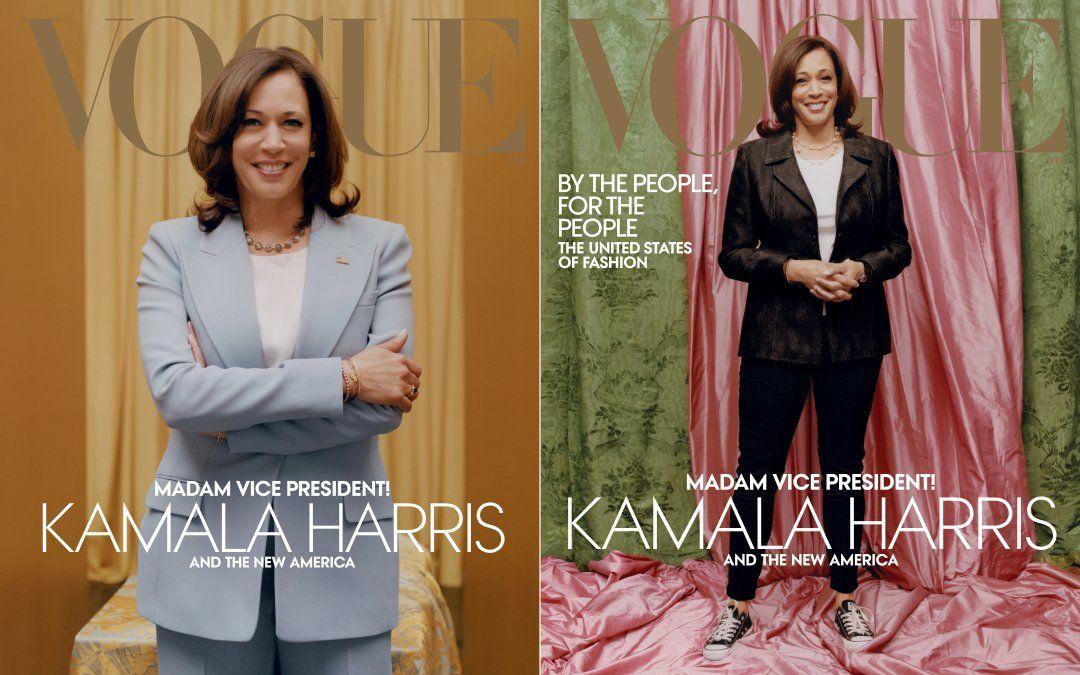 Polémica por la foto de la vicepresidenta de Estados Unidos en la tapa de famosa revista