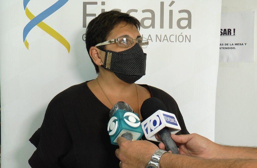 Fiscal de Rivera Alejandra Domínguez.