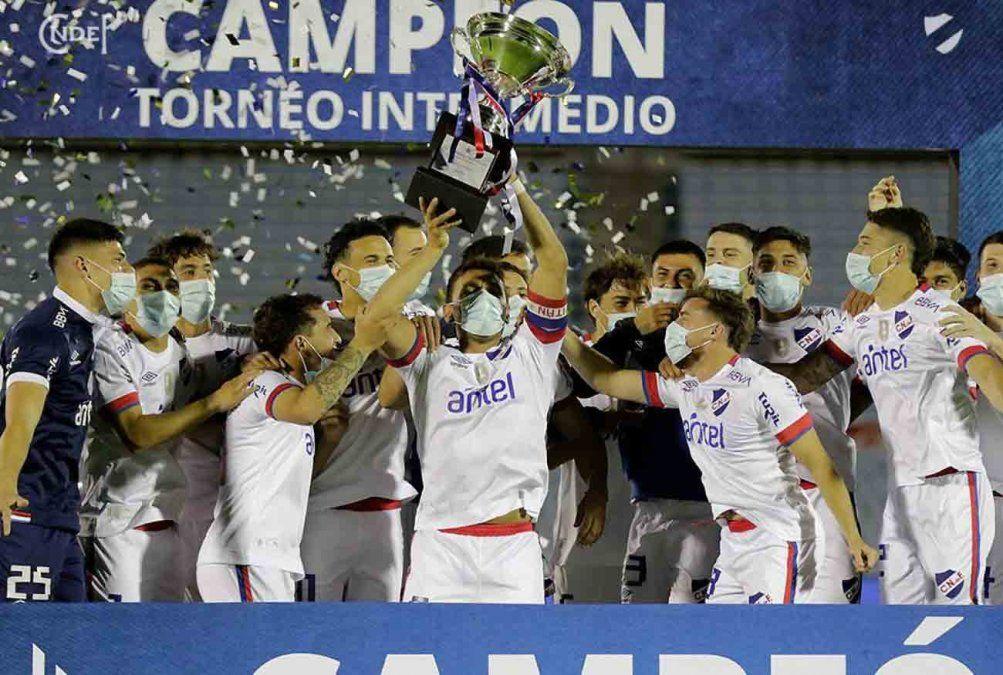 Nacional campeón del Intermedio tras vecer a Wanderers por penales