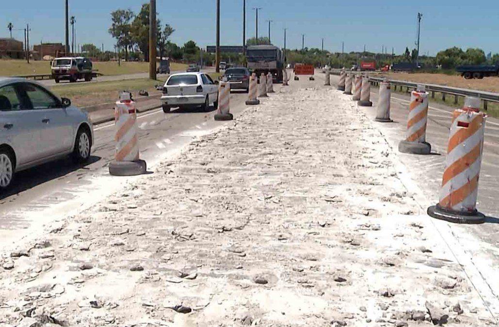 Habrá obras de mantenimiento en los accesos a Montevideo por dos semanas