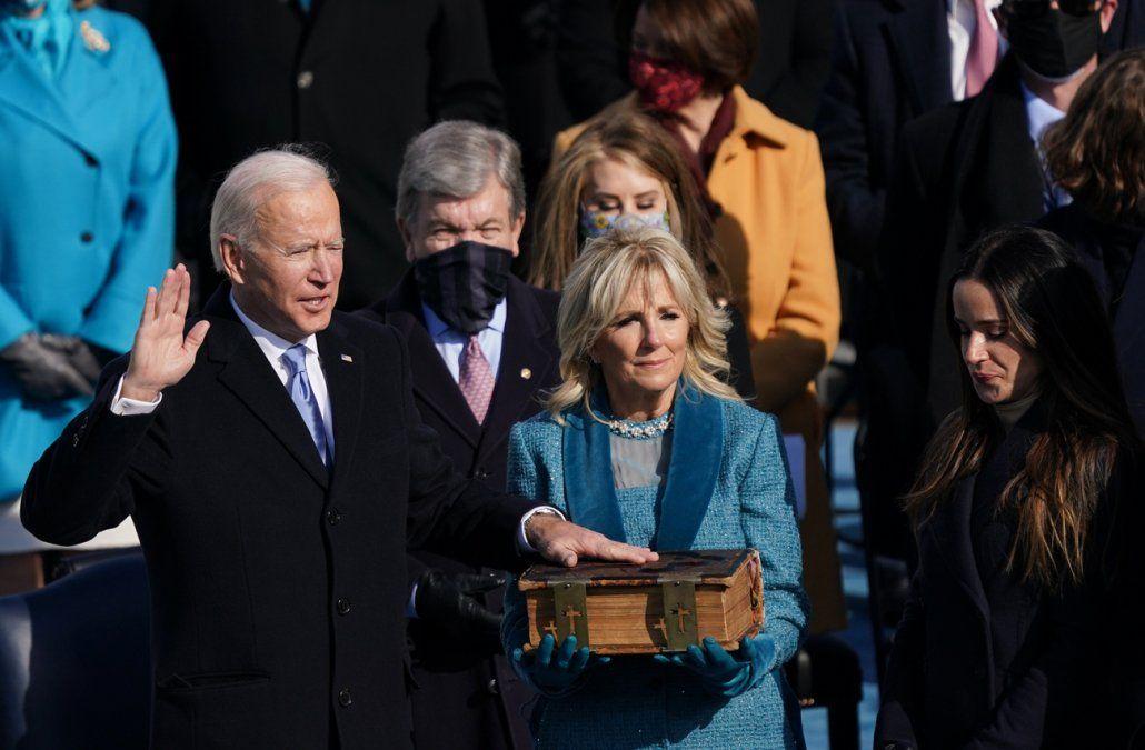 Estados Unidos: asumió Joe Biden como presidente y pidió unidad en la discrepancia