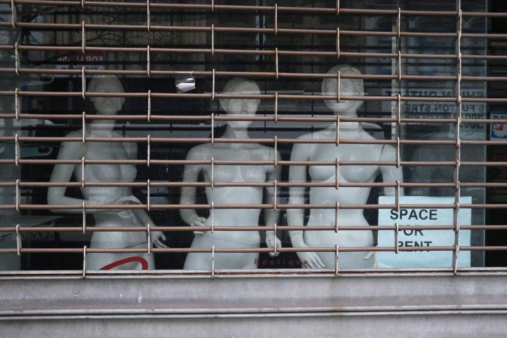 Tiendas cerradas en Brooklyn a causa de la pandemia