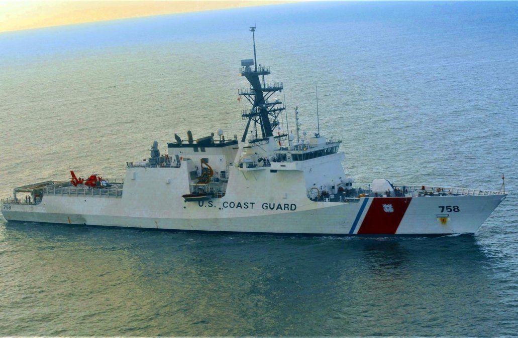 Buque guardacostas de Estados Unidos está en misión de entrenamiento en Montevideo