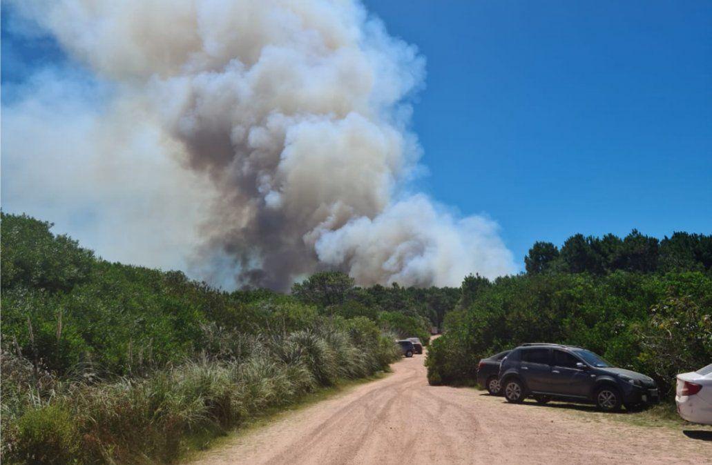 Fiscalía imputó al hombre que habría provocado el incendio en Punta del Diablo