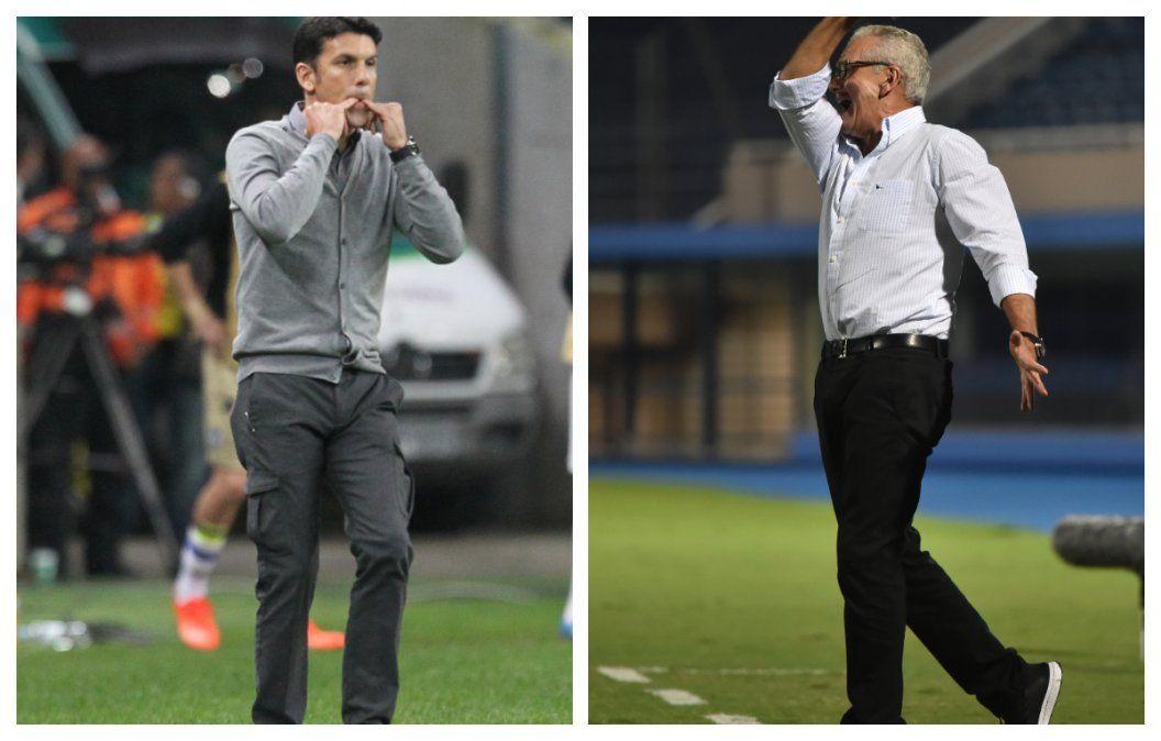 Mauricio Larriera y Gregorio Pérez