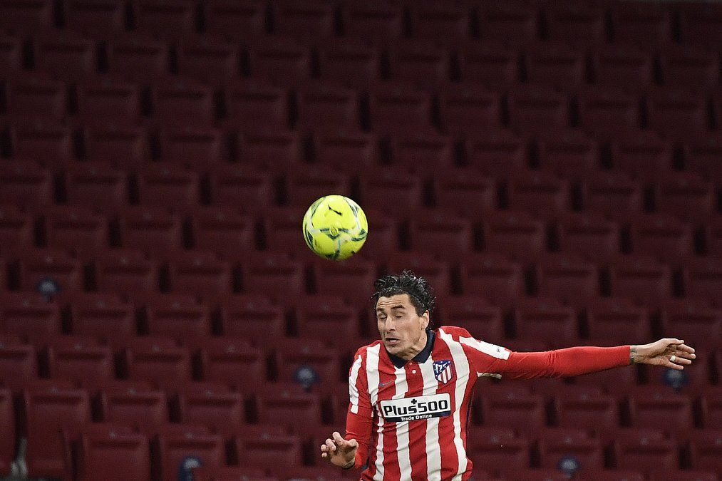 Atlético Madrid celebró los 200 partidos de Josema Giménez como emblema colchonero