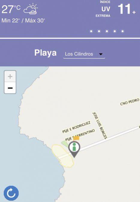Intendenta de Montevideo da a conocer aplicación para evitar aglomeraciones en las playas