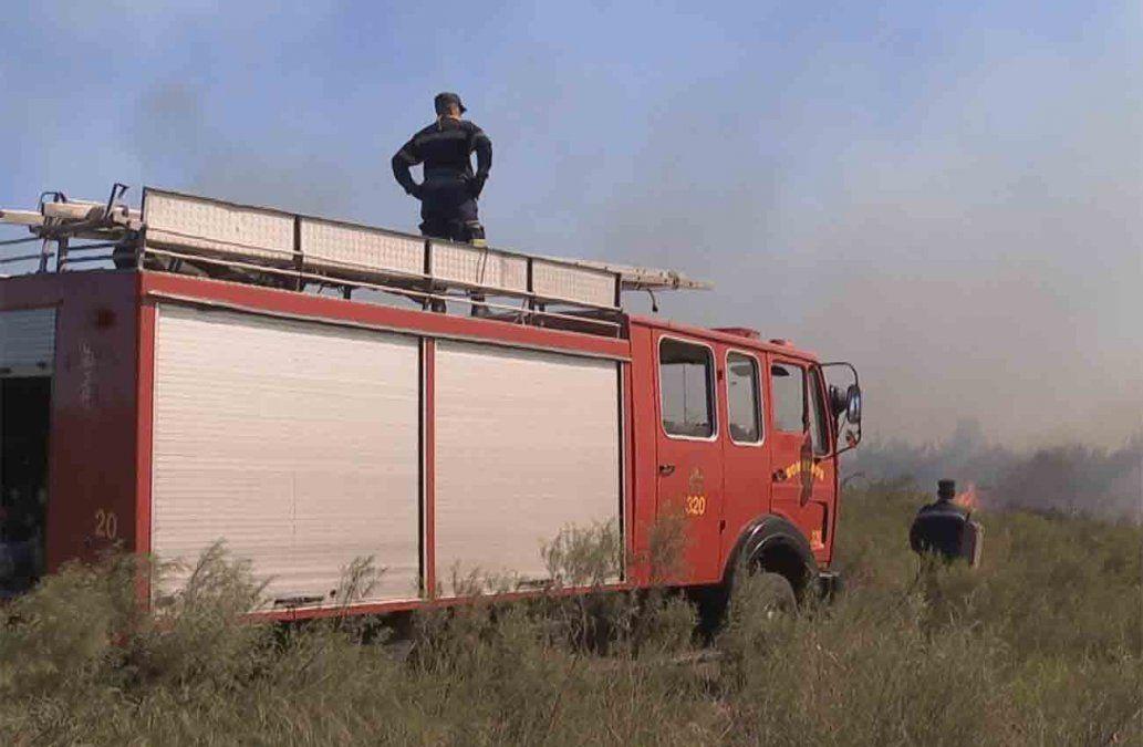 Incendio extinguido en Villa San José: se quemaron 70 hectáreas de campo