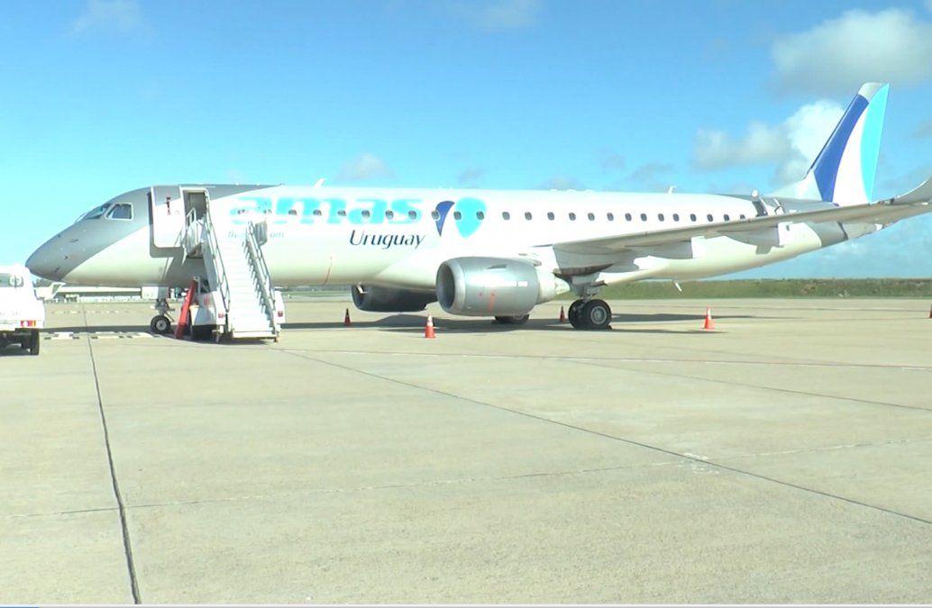 Amaszonas deja de volar con pasajeros en Uruguay y se reduce la conectividad del país