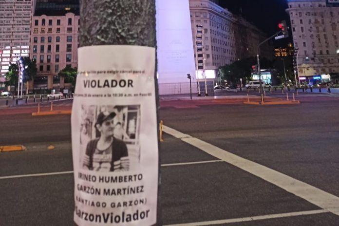 Reclamos de justicia en la vía pública en Buenos Aires