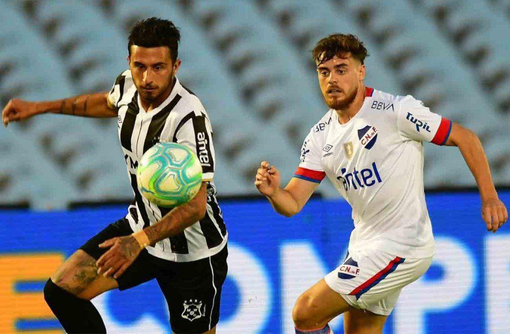 Nacional venció a Wanderers 2-1 en el Parque Central por el Clausura