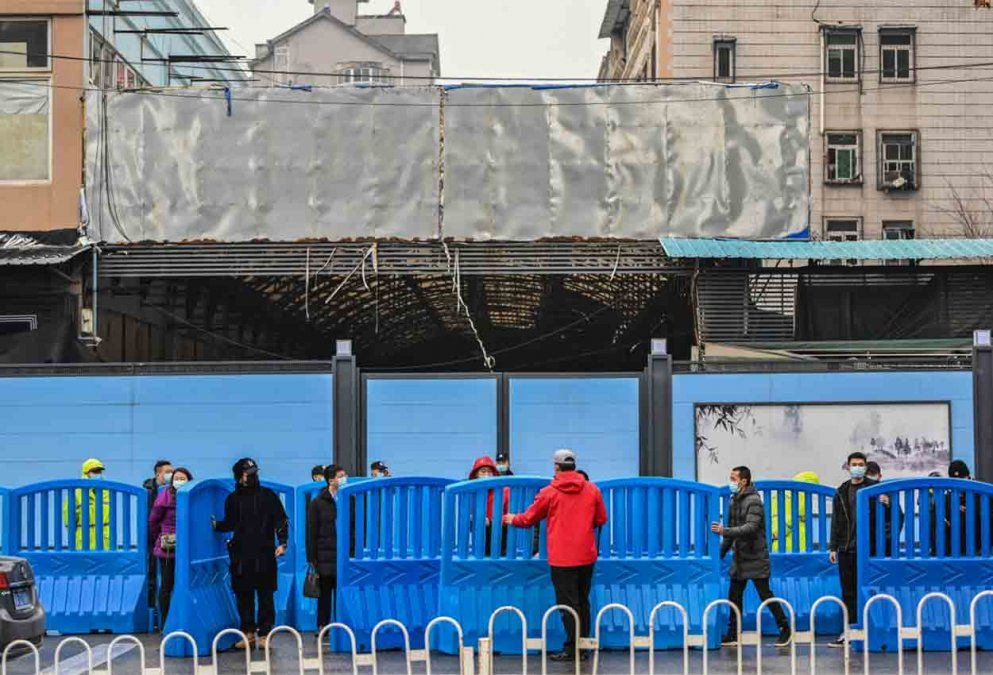OMS visitó el mercado de Huanan donde se detectó el primer brote de Covid-19