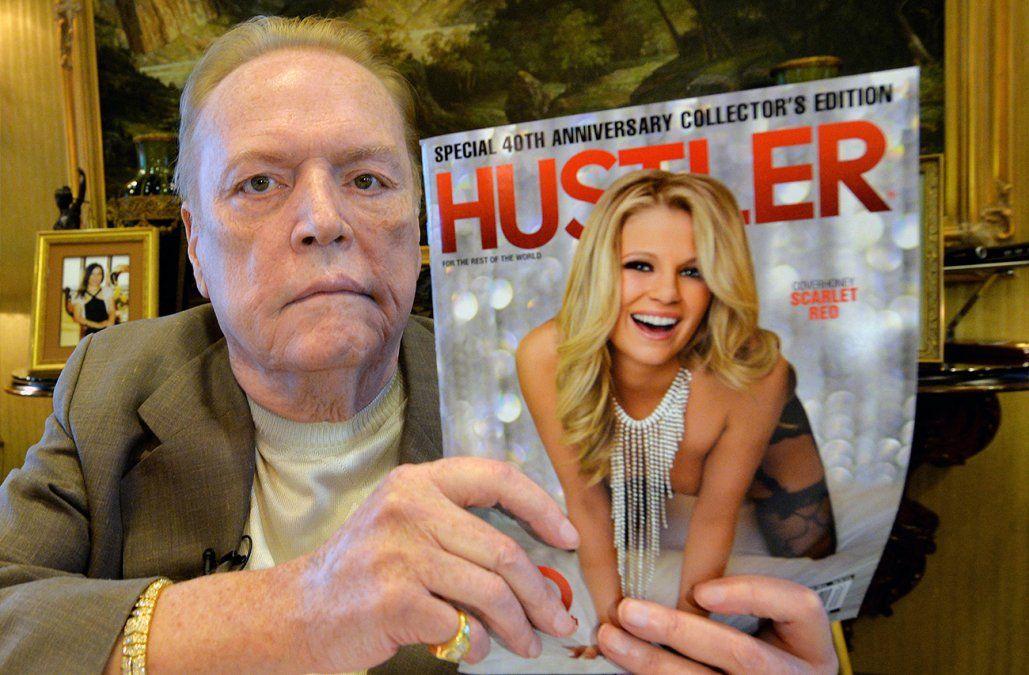 A los 78 años murió Larry Flynt, el magnate de la pornografía
