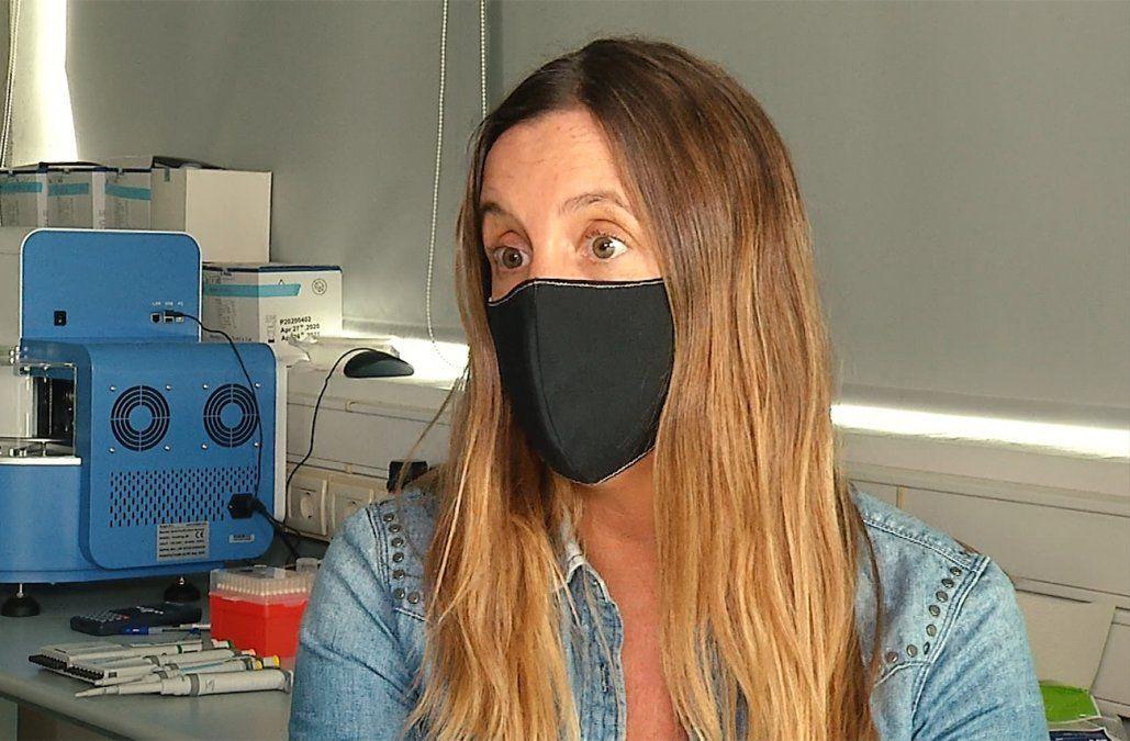 Pilar Moreno, desarrolló el kit nacional de diagnóstico de Covid