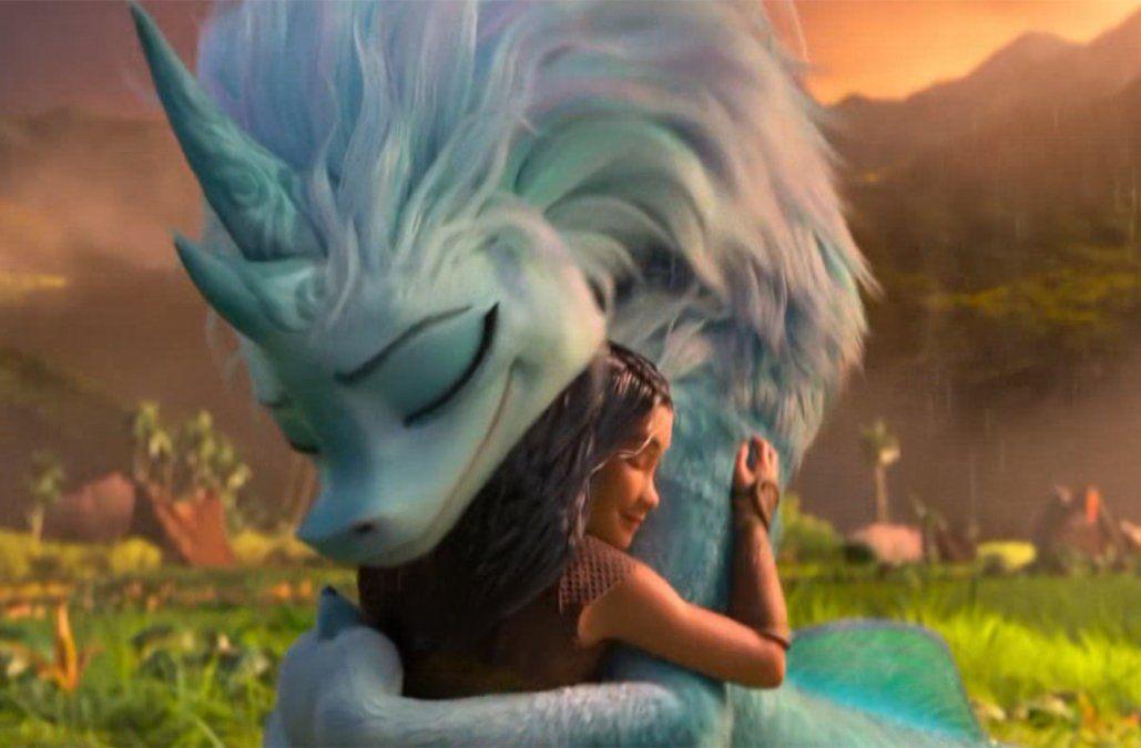 Disney contraataca a la pandemia: estrenará Raya y el último Dragón el 4 de marzo