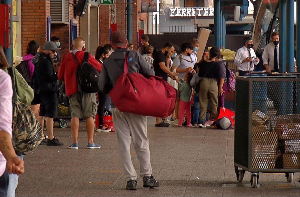 Comenzó la salida de Carnaval y esperan 15% menos de movimiento en Tres Cruces