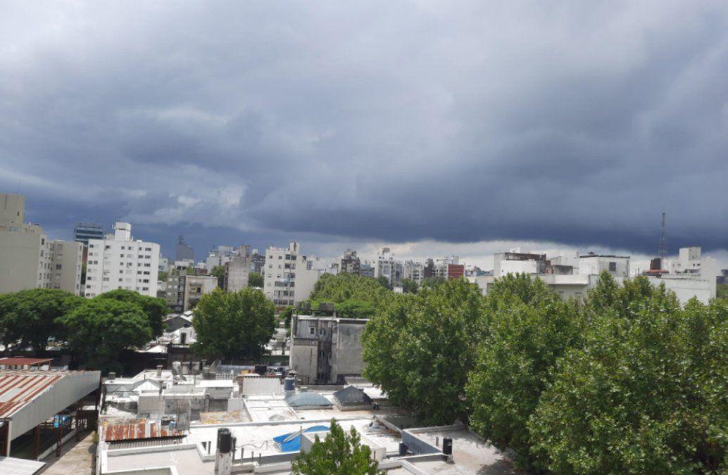 Dos alertas amarillas por tormentas fuertes y lluvias intensas