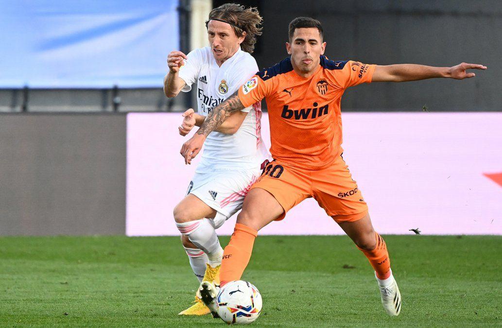 Triunfo por 2-0 del Real Madrid ante el Valencia