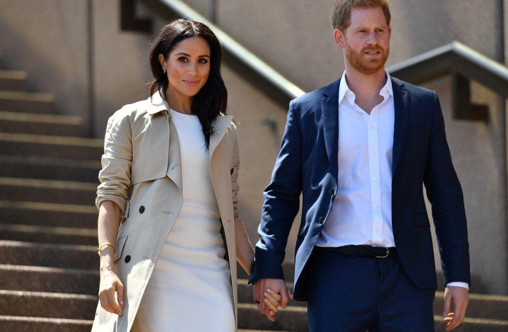 El príncipe Harry y Meghan están esperando su segundo hijo