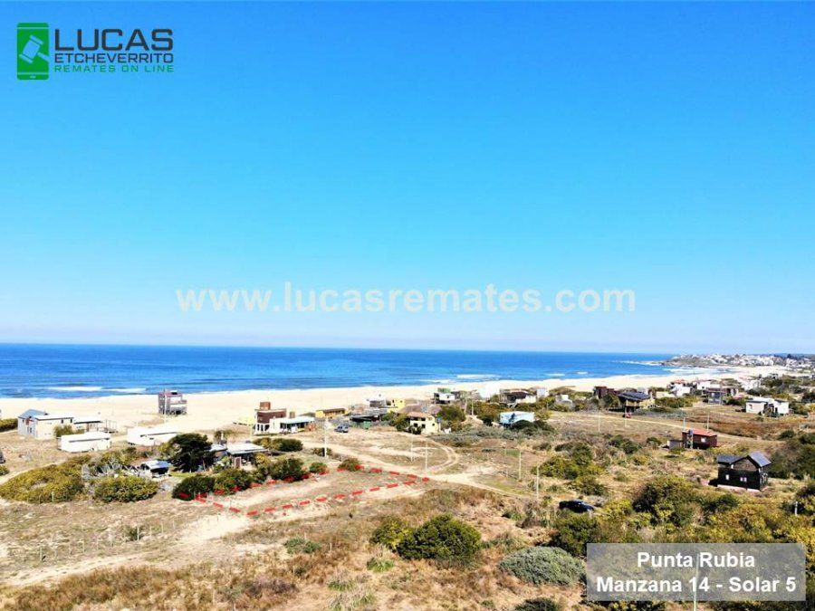 Importante Remate Online de Lucas Etcheverrito de terrenos en cuotas en Punta del Diablo, Barra del Chuy, La Esmeralda Oceanía del Polonio y Punta Rubia