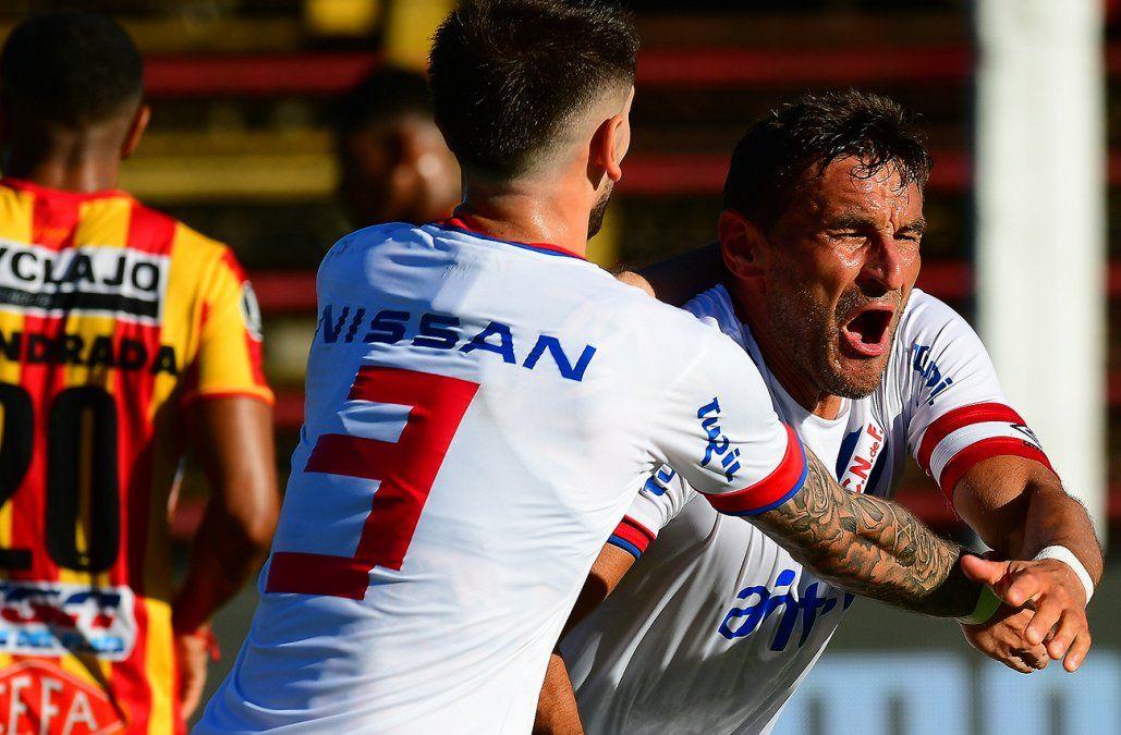Nacional le ganó 1-0 a Progreso en el Parque Paladino por la fecha 8