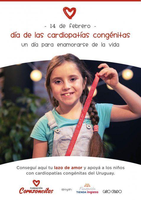 Fundación Tienda Inglesa apoya la campaña #unlazodeamor de Fundación Corazoncitos