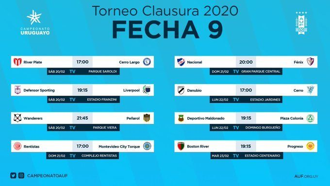 Nacional empató con Fénix 2 a 2 en el cierre de la Fecha 9 del Clausura