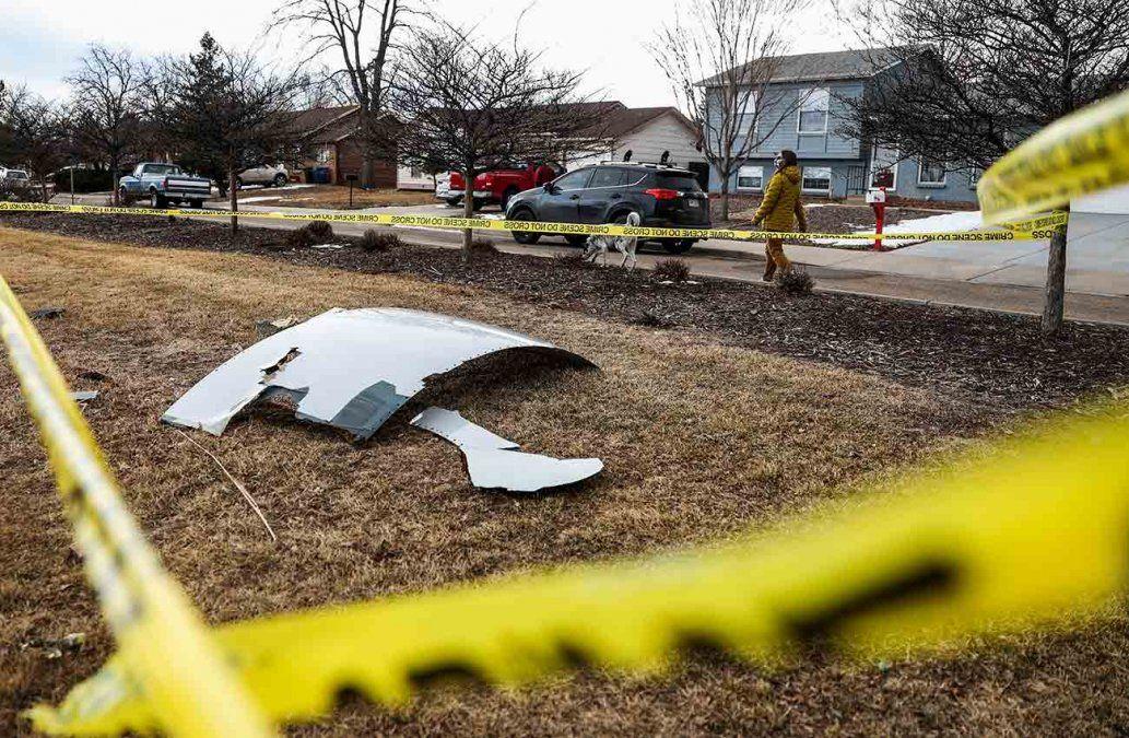 Boeing inmoviliza toda su flota con el motor implicado en el incidente en Colorado