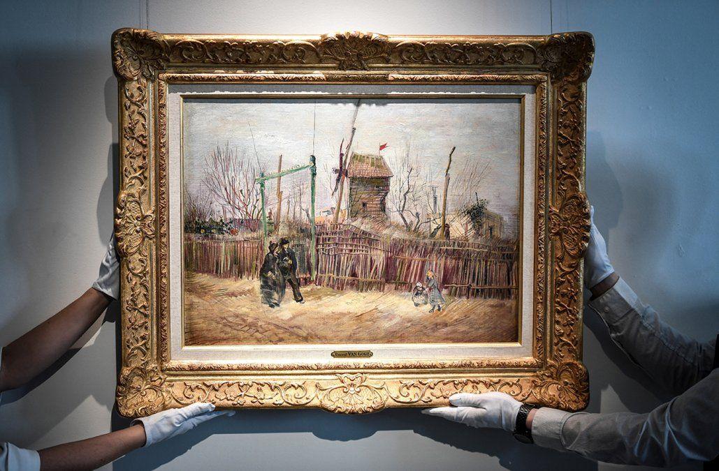 Un lienzo de Van Gogh de entre 5 y 8 millones de euros se subastará en marzo