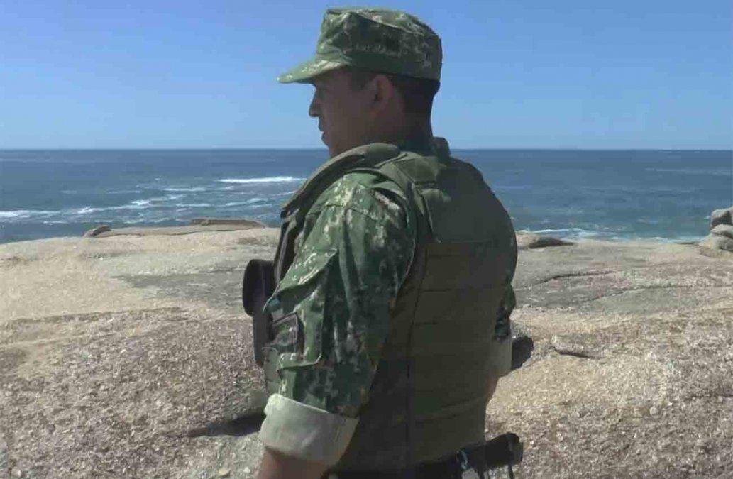 Retoman búsqueda de un joven que desapareció en las aguas de Punta del Diablo