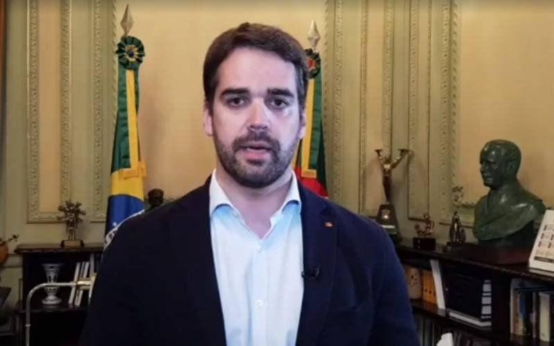 Gobernador de Río Grande Eduardo Leite trasmitió las novedades vía Facebook