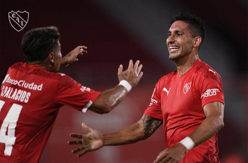 Independiente ganó 1-0 y San Lorenzo resultó goleado