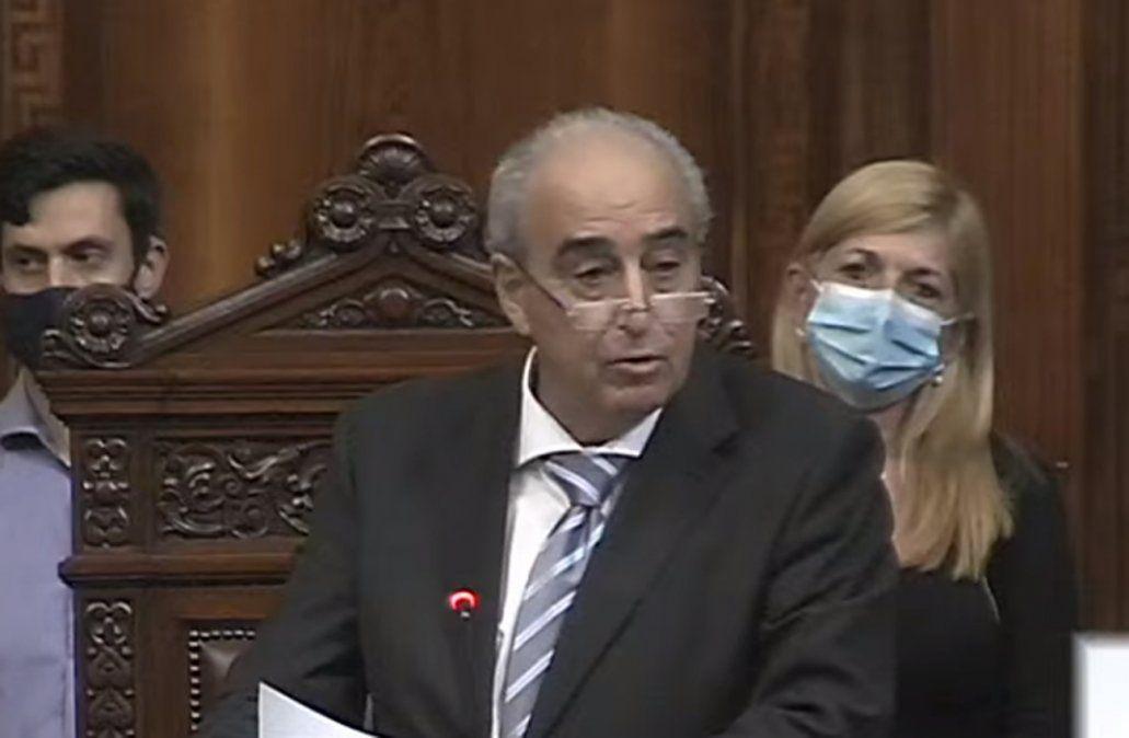 Alfredo Fratti asumió la presidencia de la Cámara de Diputados