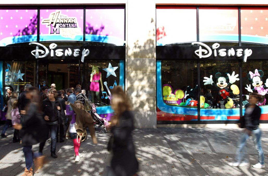 Disney cerrará al menos 60 tiendas en Norteamérica este año