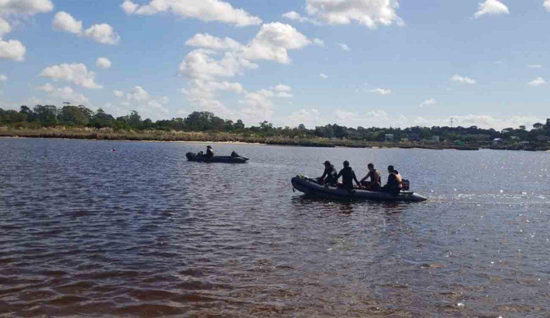 Prefectura continúa buscando Franco Acosta en el arroyo Pando