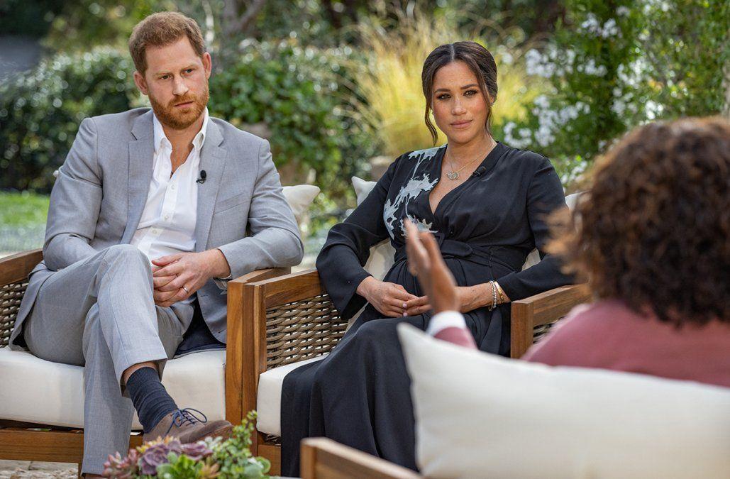 Entrevista de Harry y Meghan cayó como una bomba sobre la monarquía británica