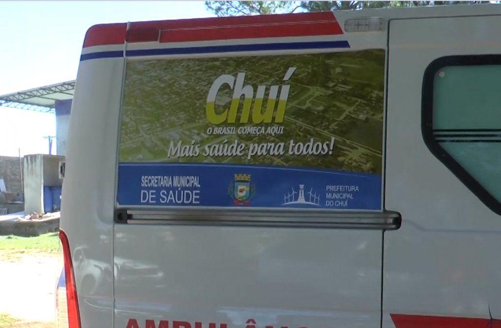 Ambulancia en el Chuí
