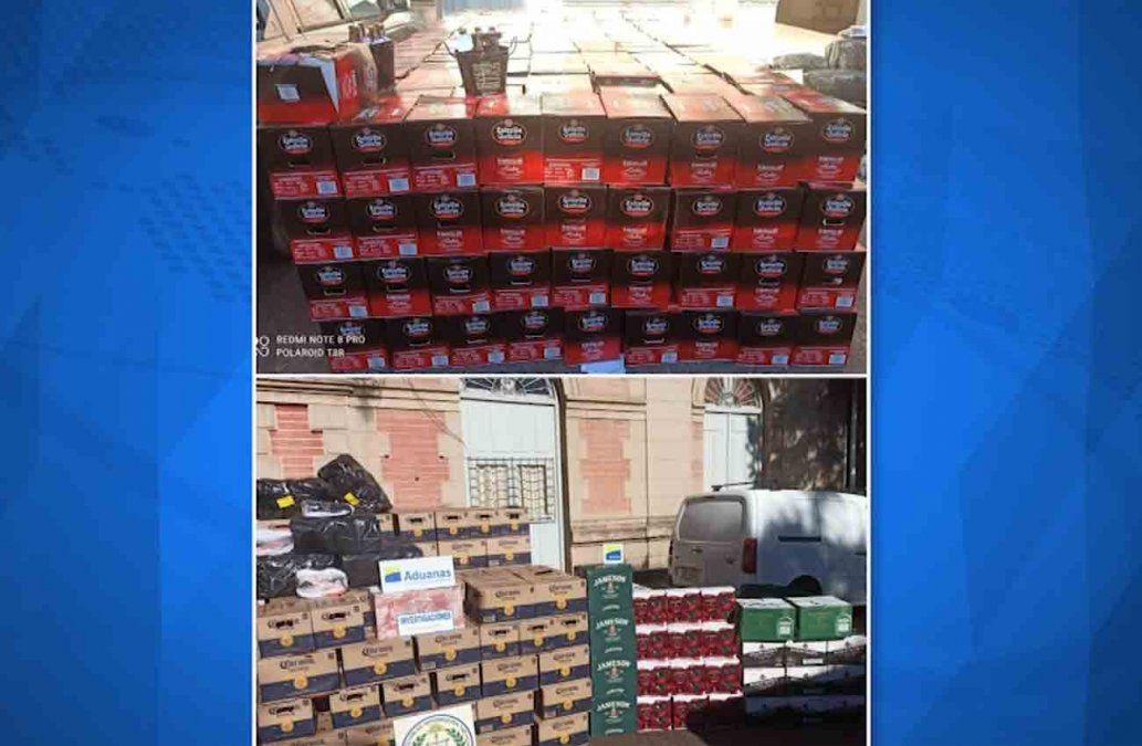 Policía de Salto incautó un contrabando valuado en más de 6 millones de pesos