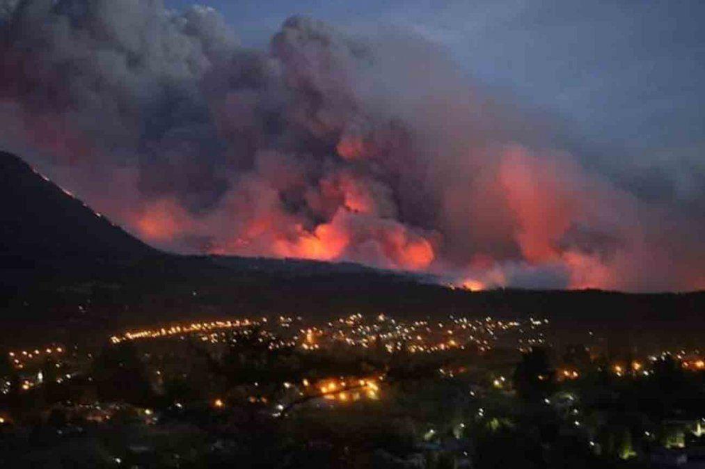 Heridos, desaparecidos y evacuados por incendios forestales en Argentina