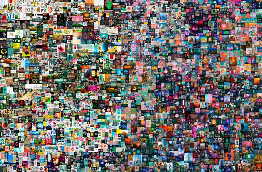 Una obra completamente digital fue vendida por 69,3 millones de dólares