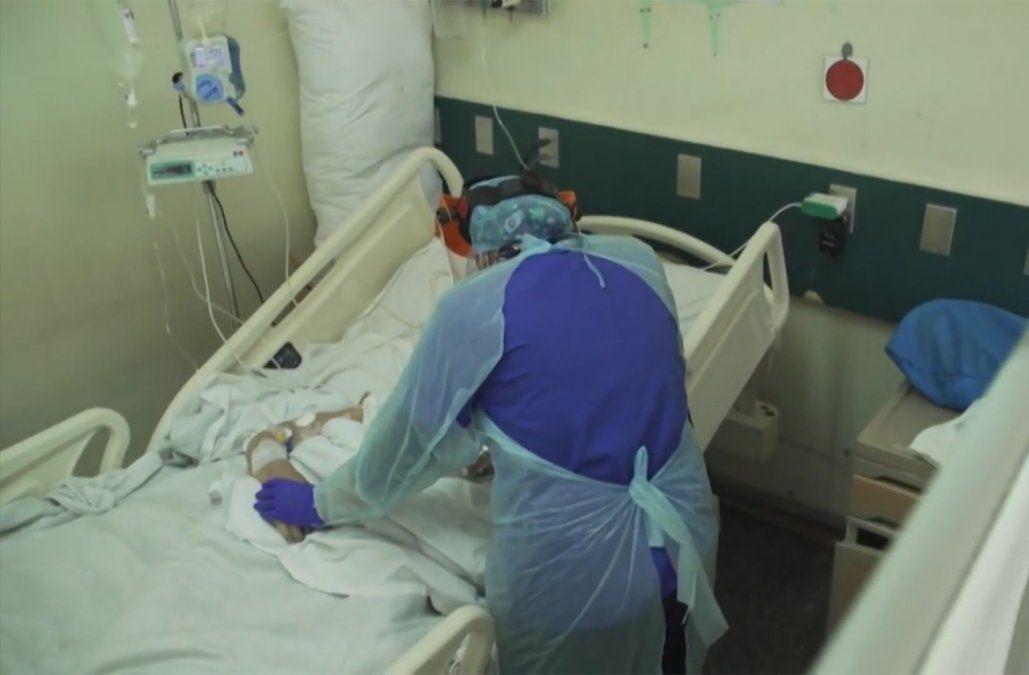 Ocupación de CTI con pacientes de Covid alcanza el 20,7% de las camas disponibles