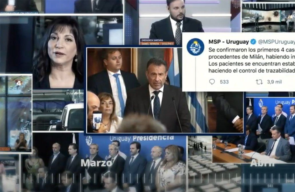 MSP publicó un video con motivo del año de la pandemia en Uruguay