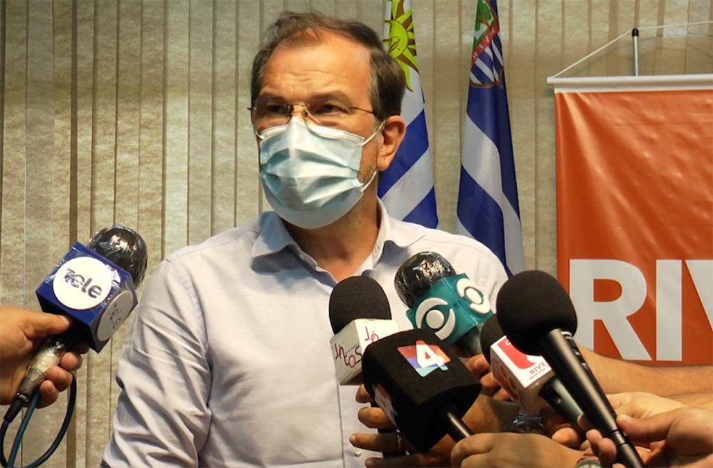 Robert Silva aclara sobre suspensión de clases presenciales en Rivera