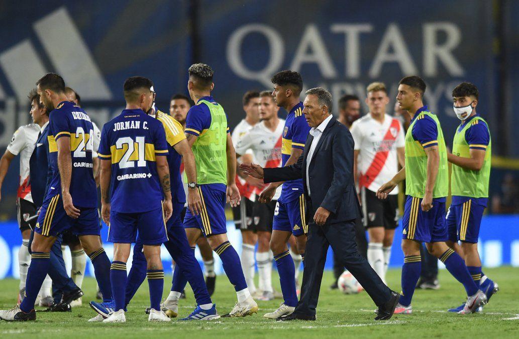 Boca Juniors y River Plate igualaron 1-1