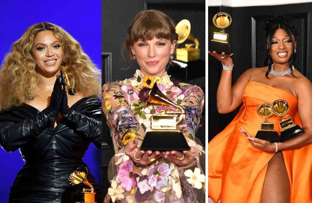 Beyonce hace historia, Taylor Swift triunfa y Megan Thee Stalion arrasa en los Grammy