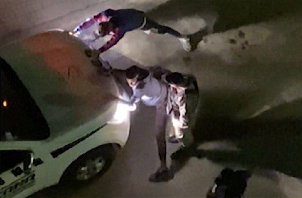 Policía que agredió a joven fue sumariado, le quitaron el arma y no participa en operativos