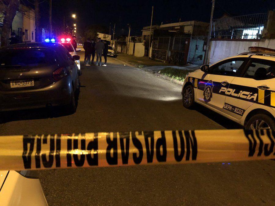 Asesinan en barrio Peñarol a un hombre en situación de calle