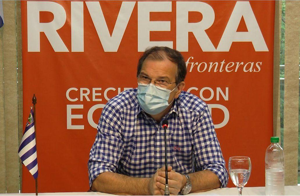 Rivera se propone llegar a 3.000 vacunados por día para contener y disminuir contagios