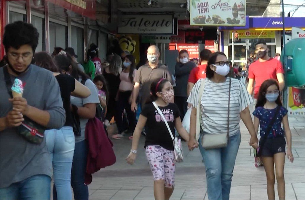 La cepa brasileña P1 del Coronavirus ya circula por 16 departamentos