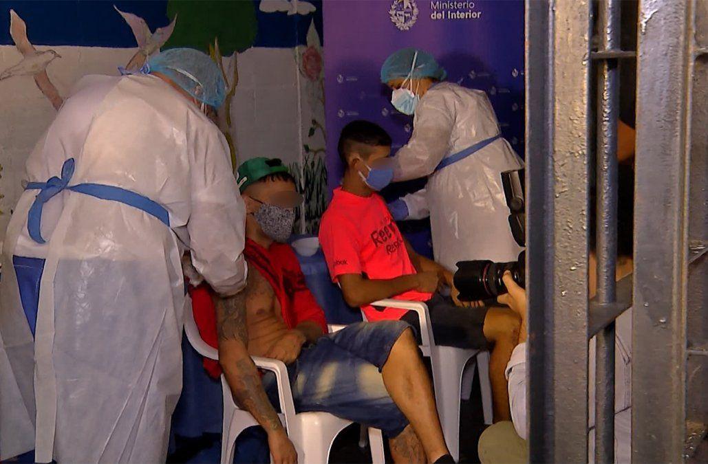 Más de 3.200 reclusos ya recibieron la vacuna contra el Coronavirus